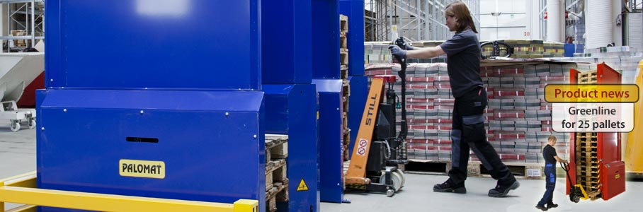 PALOMAT pallet magazines - Pallet magazines/ pallet dispensers for every need