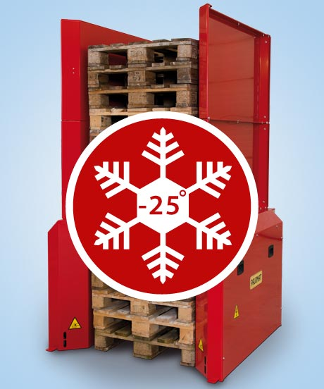Option - Pallet handling cold environment